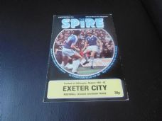 Chesterfield v Exeter City, 1981/82